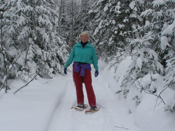 Goodbye, snowshoes!