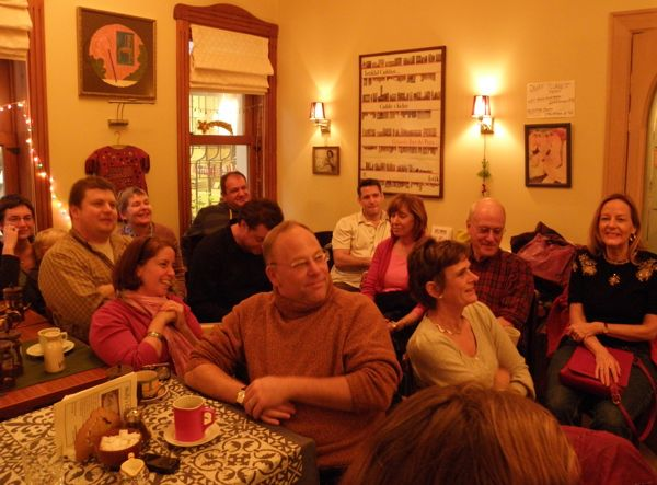 Nearaly half of the rapt admirers