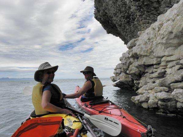 Annie & Mike kayak
