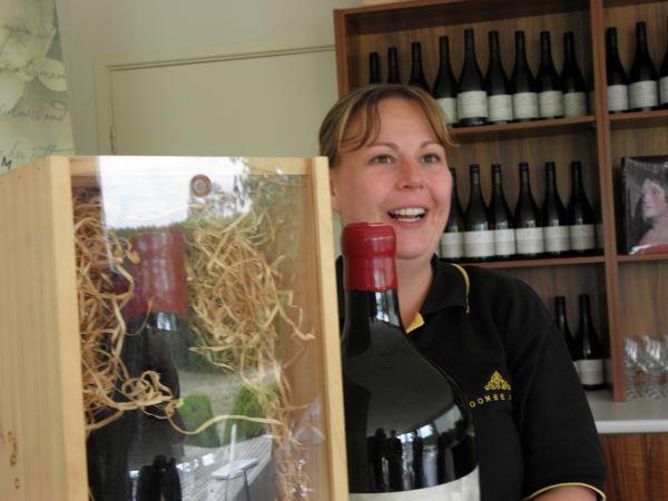 wine taster host