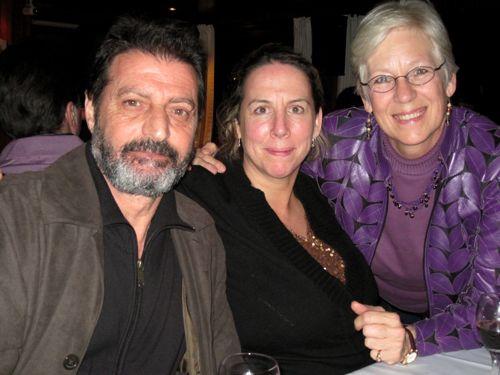 Balik Ekmek Caz-Mustafa, Amy, and me