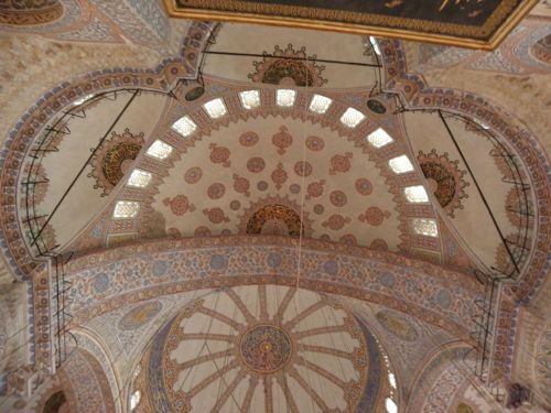 Blue Mosque domes