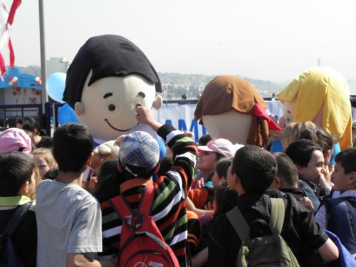 Children's Day at the pier
