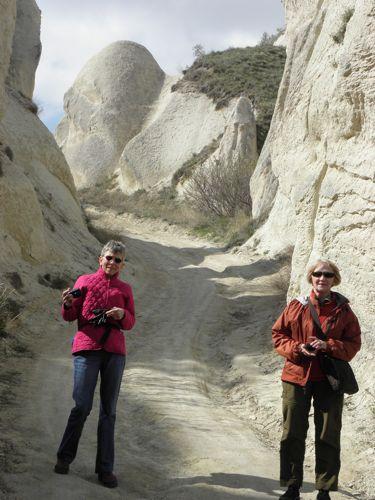 Karen, Susan hike