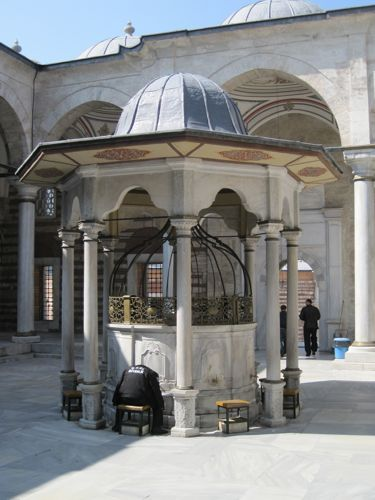 Laleli Mosque fountain