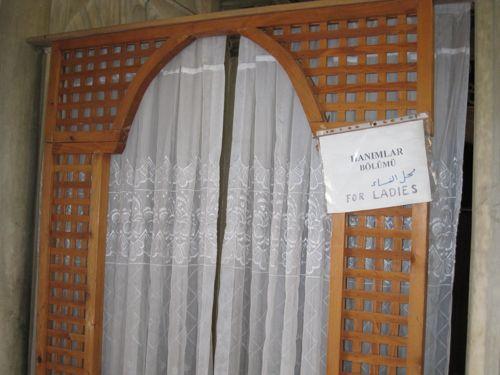 Laleli Mosque women