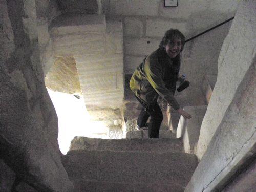 Linda room steps