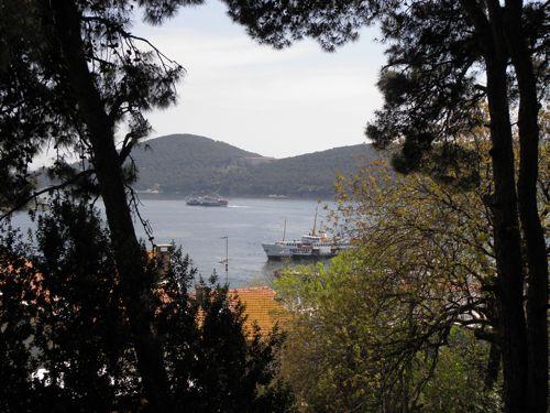 Sandra's view from Burgazada