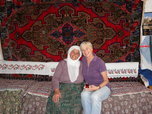 Fatma and Ann Marie