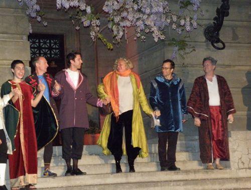 Shakespeare-curtain call