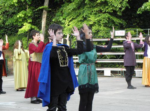 Shakespeare-dance