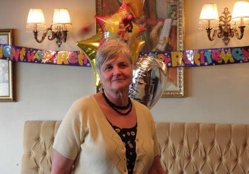 Diane's retirement party