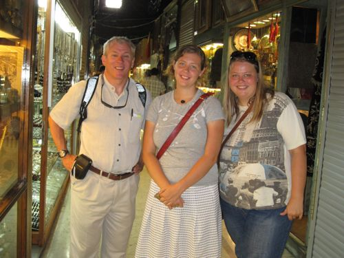 Jeff, Laura & Yvette, Grand Bazaar