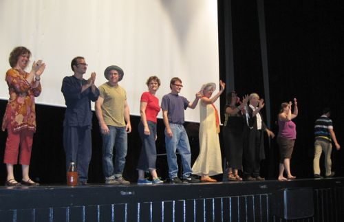 Teacher curtain call