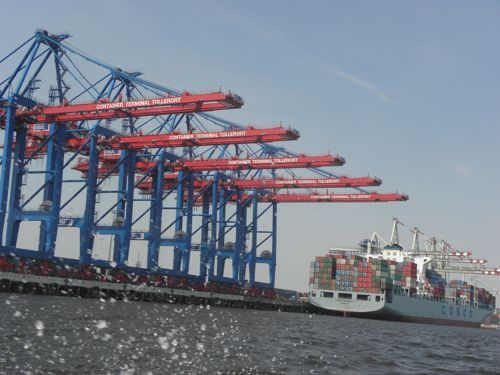 container dock