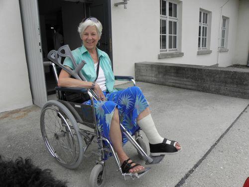 Ann wheelchair