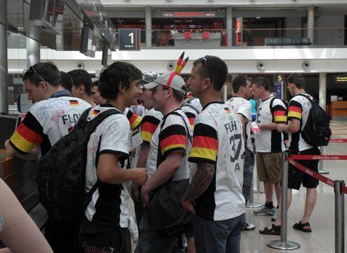 Hamburg revelers