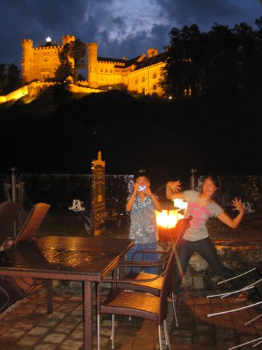 kids and night castle