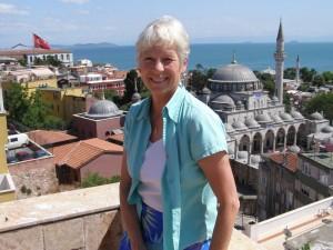 Ann Marie over Istanbul