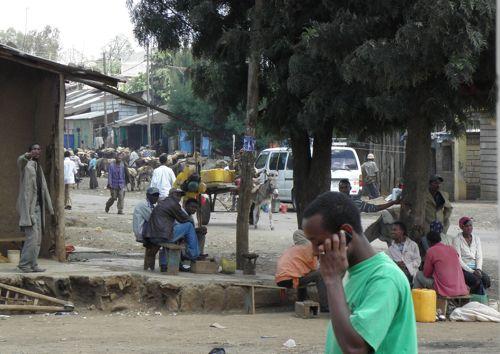 Hosanna street scene