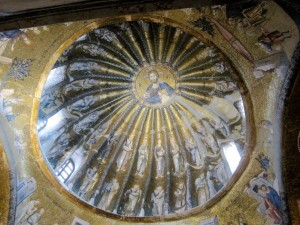 A dome in the Chora Church, Istanbul, Ann Marie's Istanbul