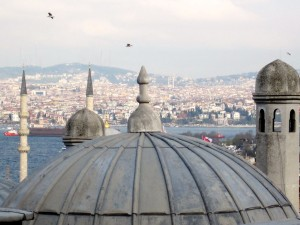 Overlooking Istanbul from the Süleymaniye Mosque, Ann Marie's Istanbul