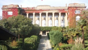 Gould Hall, Robert College, Istanbul, once the American Girls' College. Ann Marie's Istanbul