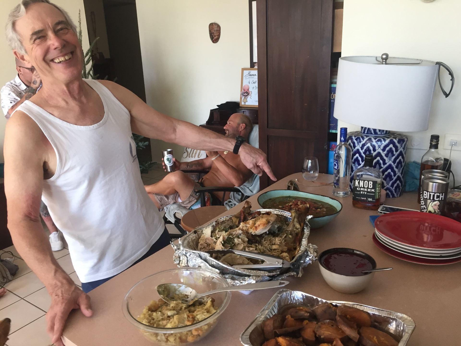 Thanksgiving, Puerto Rico, San Juan