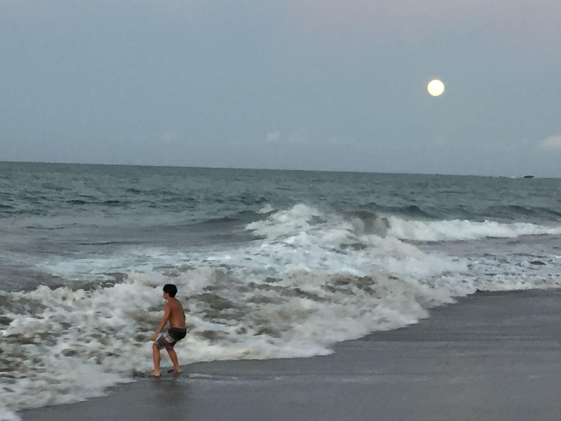 Puerto Rico, waves, San Juan