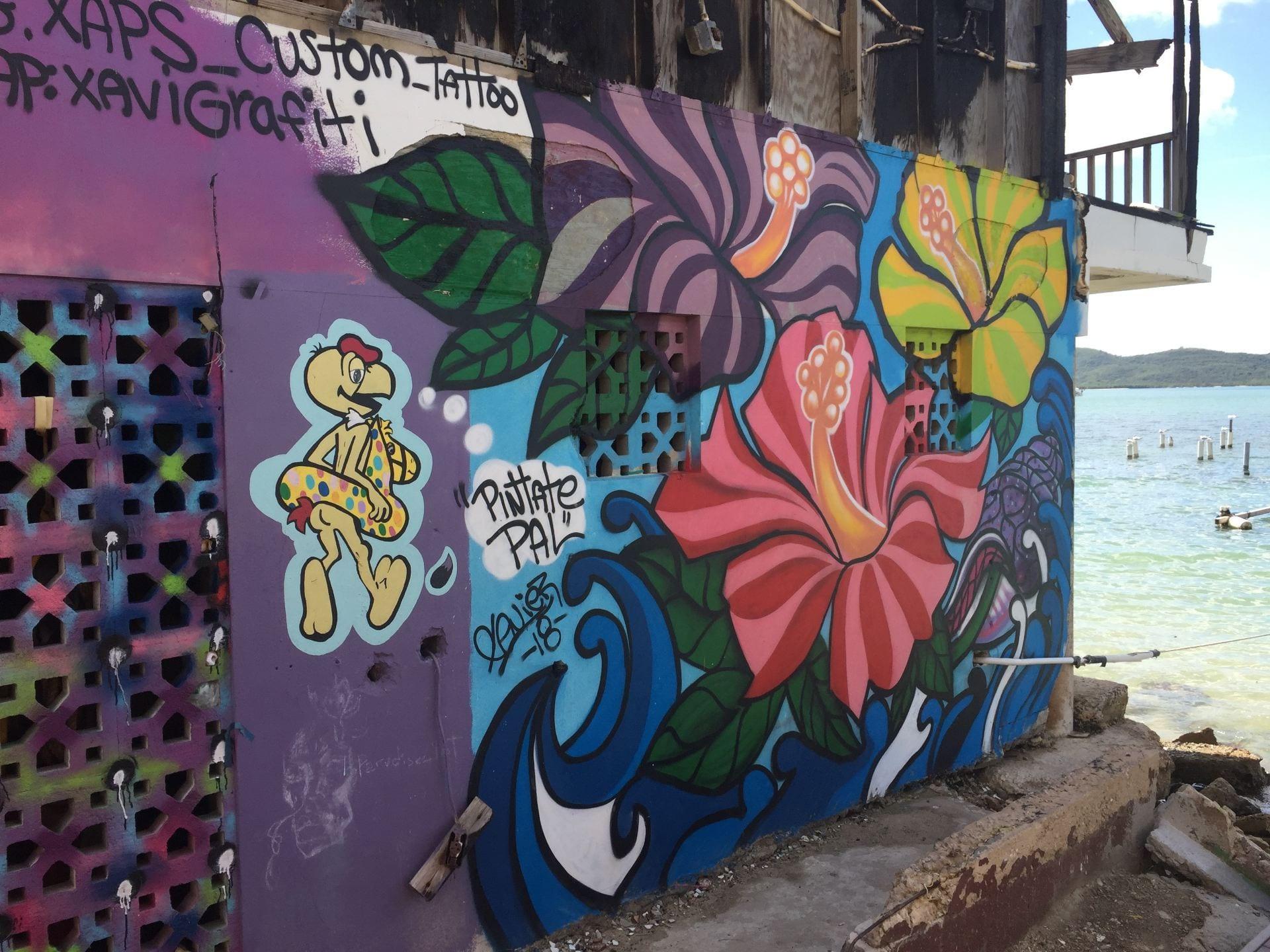 mural, Puerto Rico, Aguadilla, Hurricane Maria