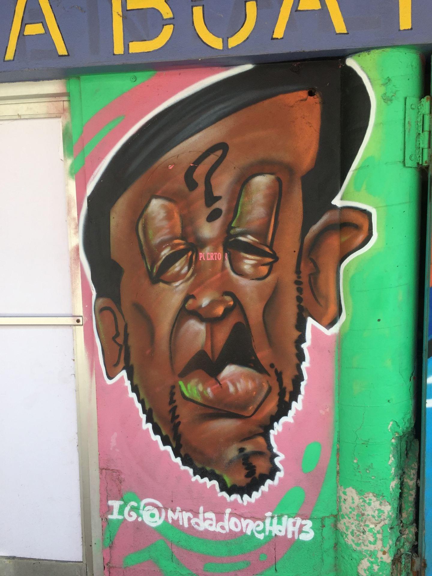 Puerto Rico, mural, street art